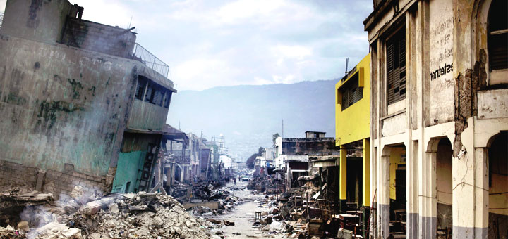 Порт о пренс попал ли в зону землетрясения